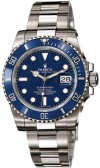 Rolex Submariner 40mm White Gold Ceramic 116619LB